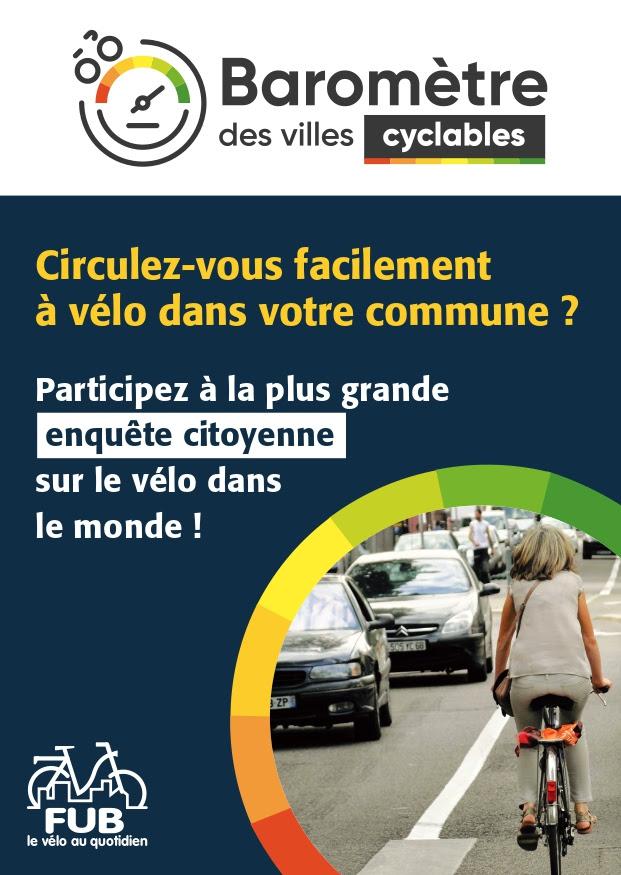 Visuel barometre des villes cyclables